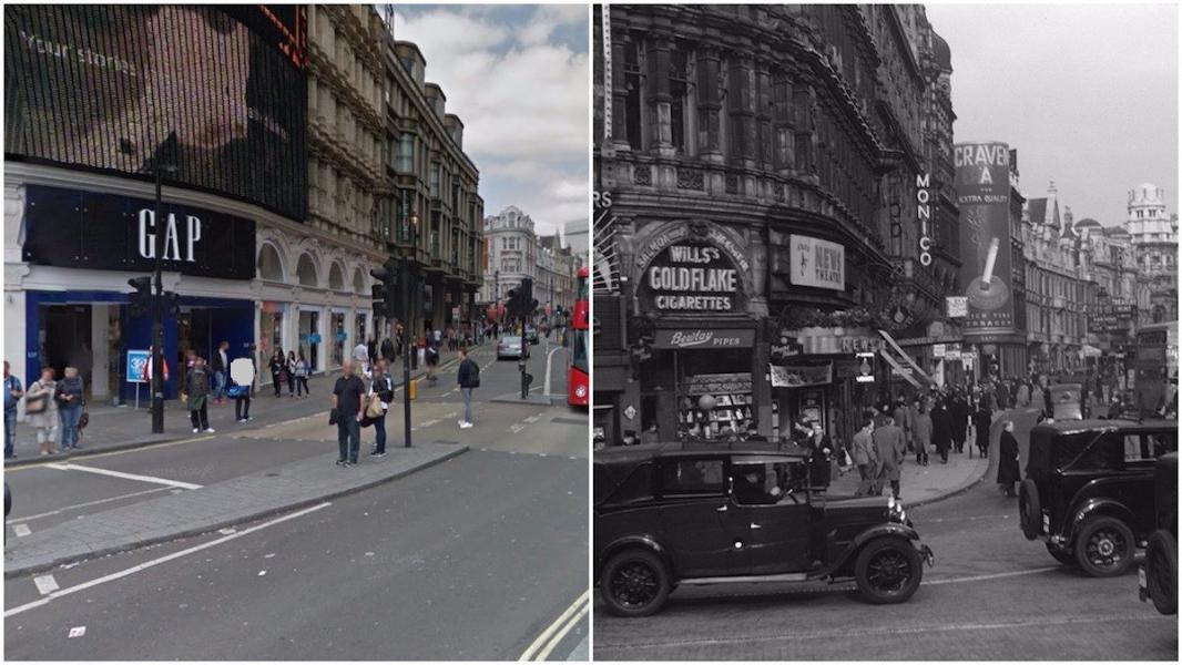 نادرة تبرز التغير الذي لندن