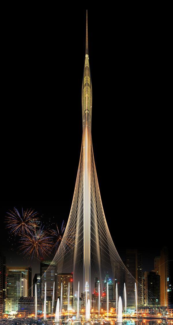 بالصور إعمار العقارية تطلق مشروع برج شاهق جديد في خور دبي