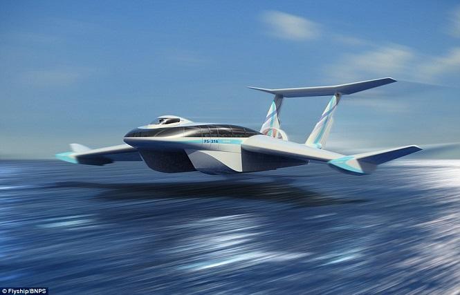 بالصور: مهندسون ألمان يبتكرون نموذجاً لسفينة وطائرة في نفس الوقت ستمثل مستقبل نقل البشر