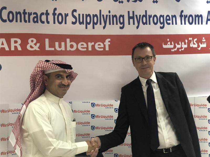 Hydrogen Supply Agreement between Air Liquide Arabia (ALAR