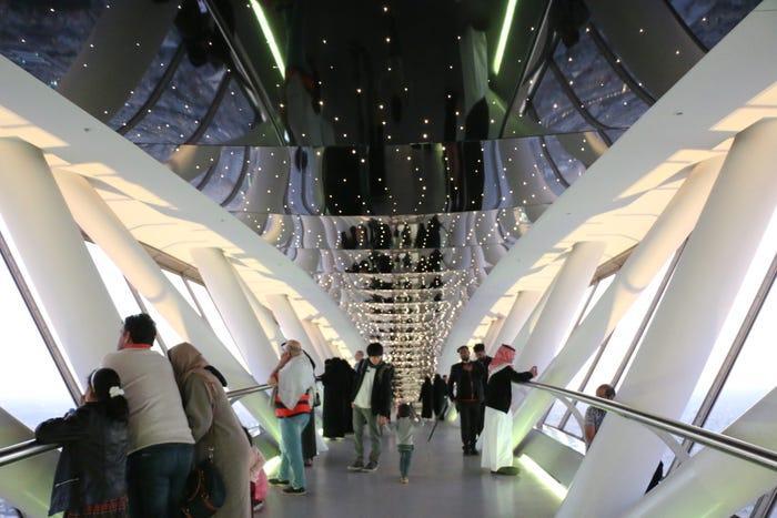 مطل برج المملكة رحلتي السياحية 7