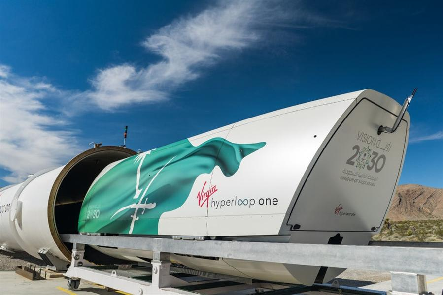 Virgin Hyperloop chooses Jeddah as site for its ad campaign