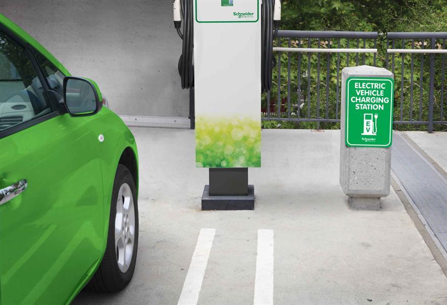 Schneider Electric installs Saudi's first EV charging station in Jeddah