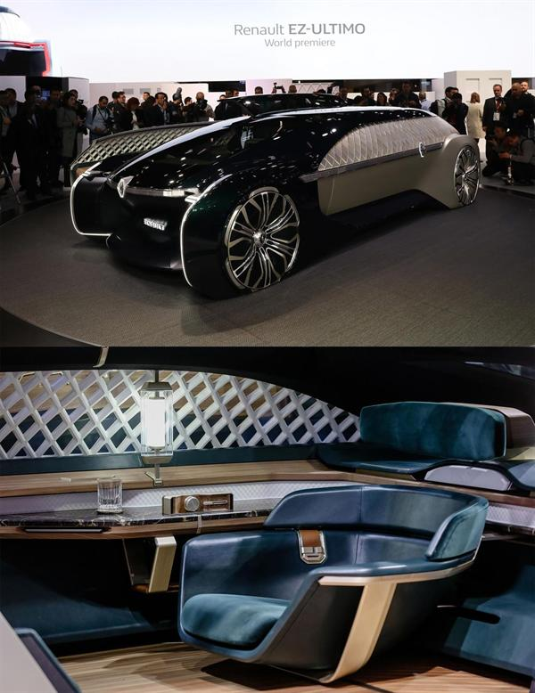 بالصور أبرز السيارات الفاخرة والخارقة في معرض باريس الدولي