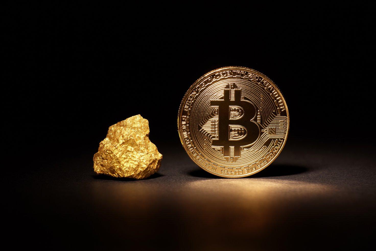 طلا در حال تعقیب یک پیشگویی جدید است| نبرد طلا و بیت کوین برای مقابله با تورم انتظاری در جهان