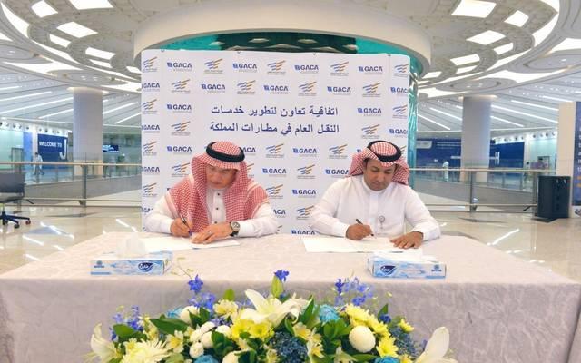 GACA, transport authority ink airport transportation deal