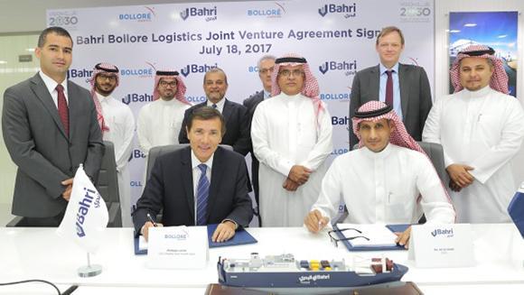 Bahri, Bolloré launch logistics JV in Riyadh